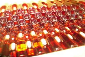 bouteilles rosé